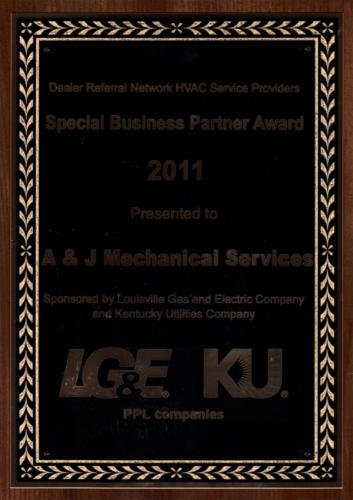 Dealer Referral Special Business Partner 2011
