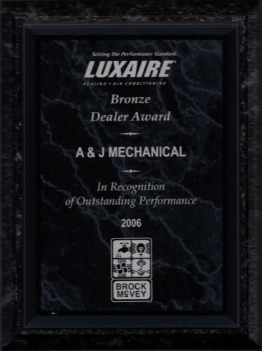 Luxaire 2006 Bronze Dealer